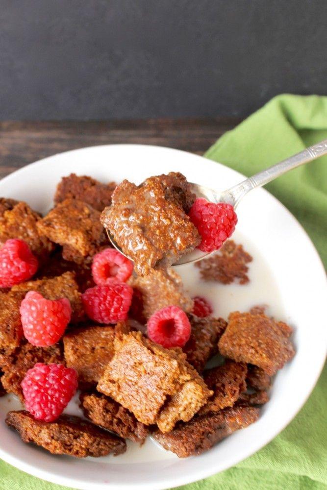 Paleo Cracklin Oat Bran Cereal - made with Golden Barrel Blackstrap Molasses and Coconut Oil.