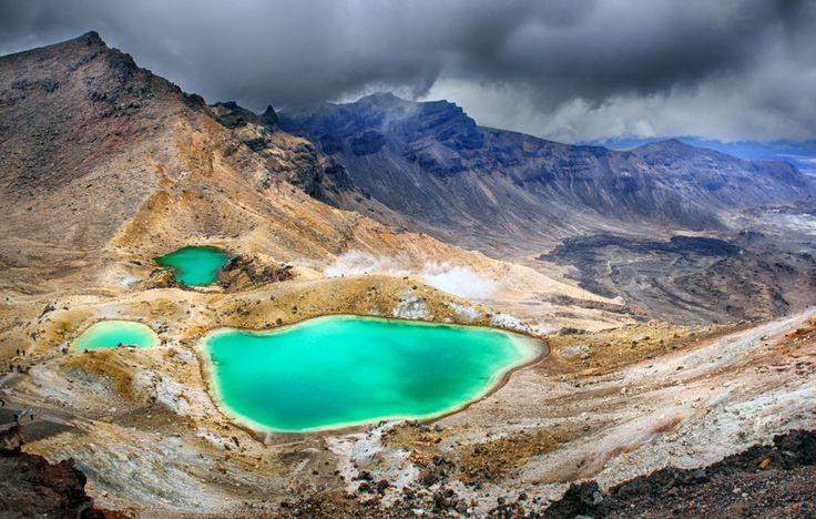 Mont Tongariro, Nouvelle-Zélande