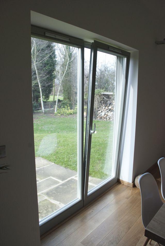 RAL 7030 stone grey Olsen Elite 92 tilt \u0026 turn double balcony door (tilted) & 63 best Interesting balcony doors images on Pinterest   Windows ...