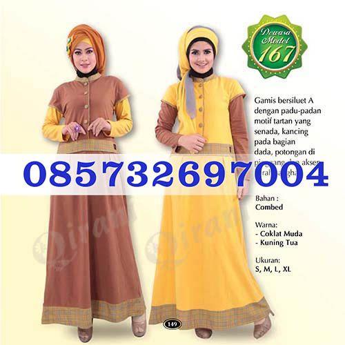 Gamis Qirani Model 167 Hubungi  085732697004 PIN BB D10F64D6
