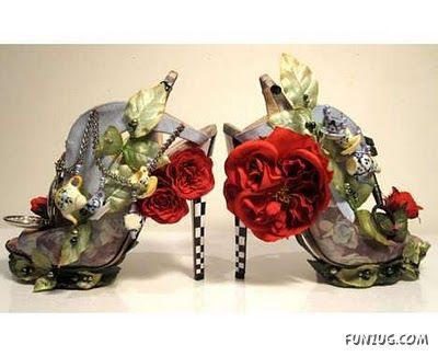 Very Alice in Wonderland: Wonderland Shoes, Fashion, Alice In Wonderland, Nicholaskirkwood, Heels, Nicholas Kirkwood, Aliceinwonderland, Teas Parties, Haute Couture