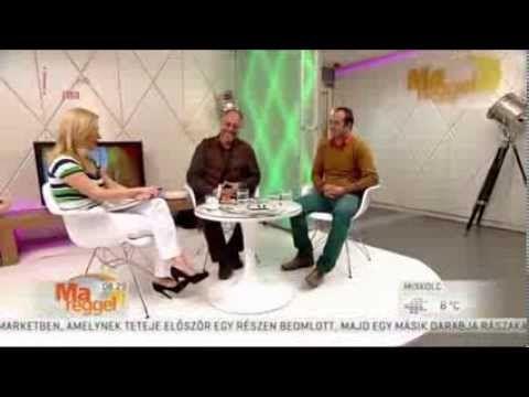 Nagybányai vendégeink az MTV Ma reggel c. műsorában