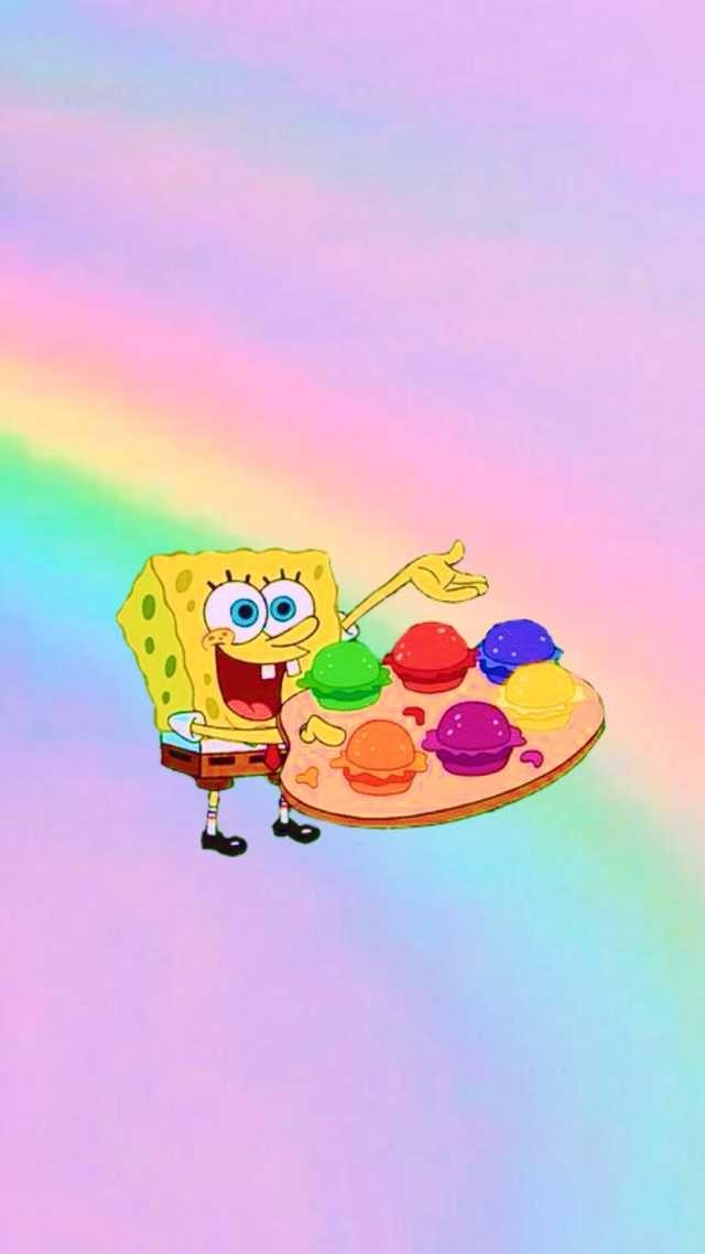 Pin By Adl On Lockscreens Cartoon Wallpaper Iphone Spongebob