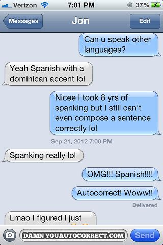 funny auto-correct texts - The 25 Best Autocorrects Of September 2012!
