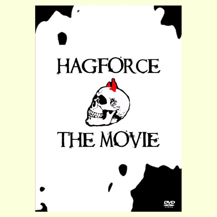 Hagforce the Movie front DVD-cover/movie poster. #hagforce #hagforcethemovie