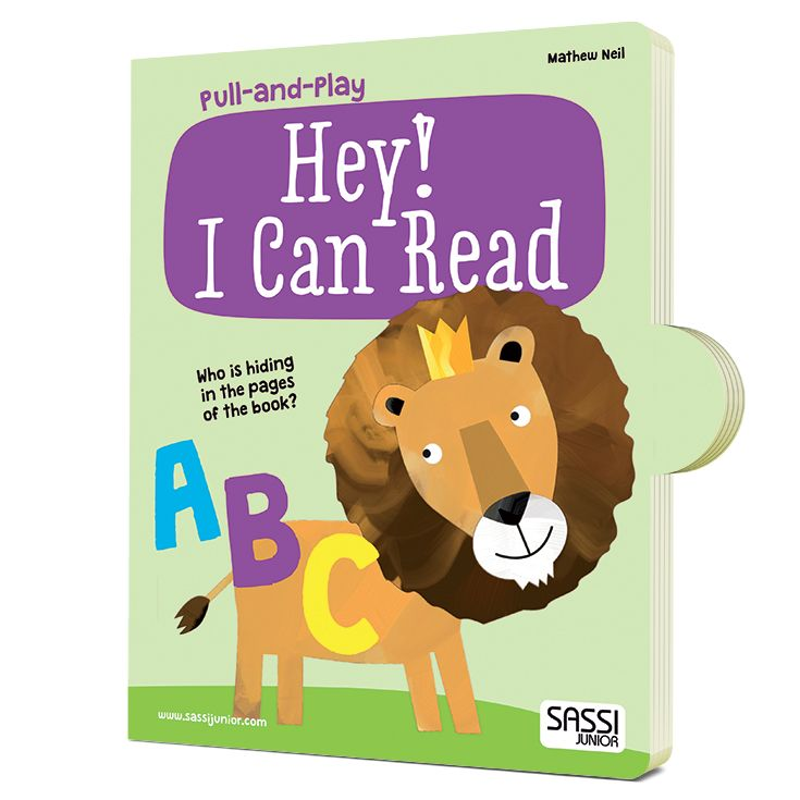 #Sassi Junior: Pull and Play - Hey! I Can Read. A 10-pages book about the numbers. #eco #friendly #book #game