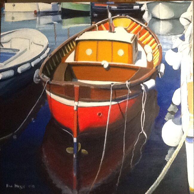 Oil on Linen 60 x 60 cm Memory of Sicily