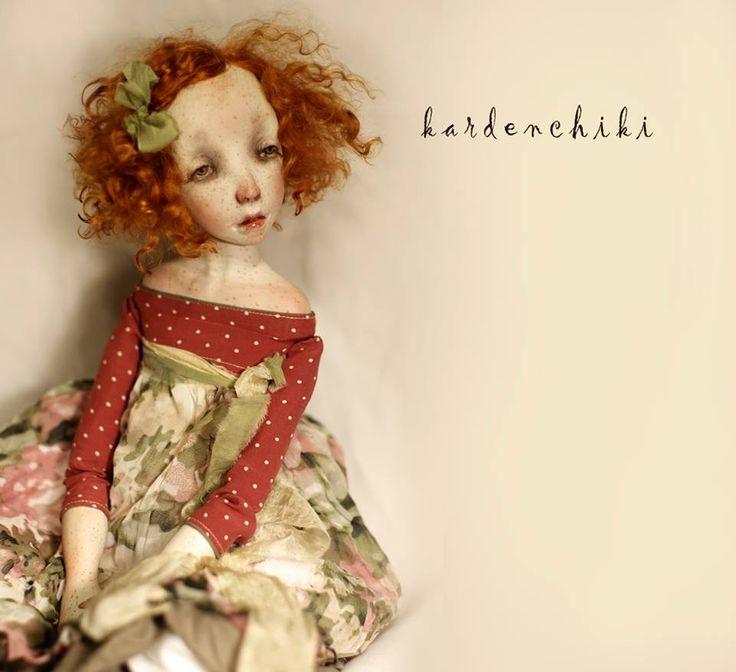Kardenchiki: - Art Dolls by Denis Shmatov and Karina Burkatskaya