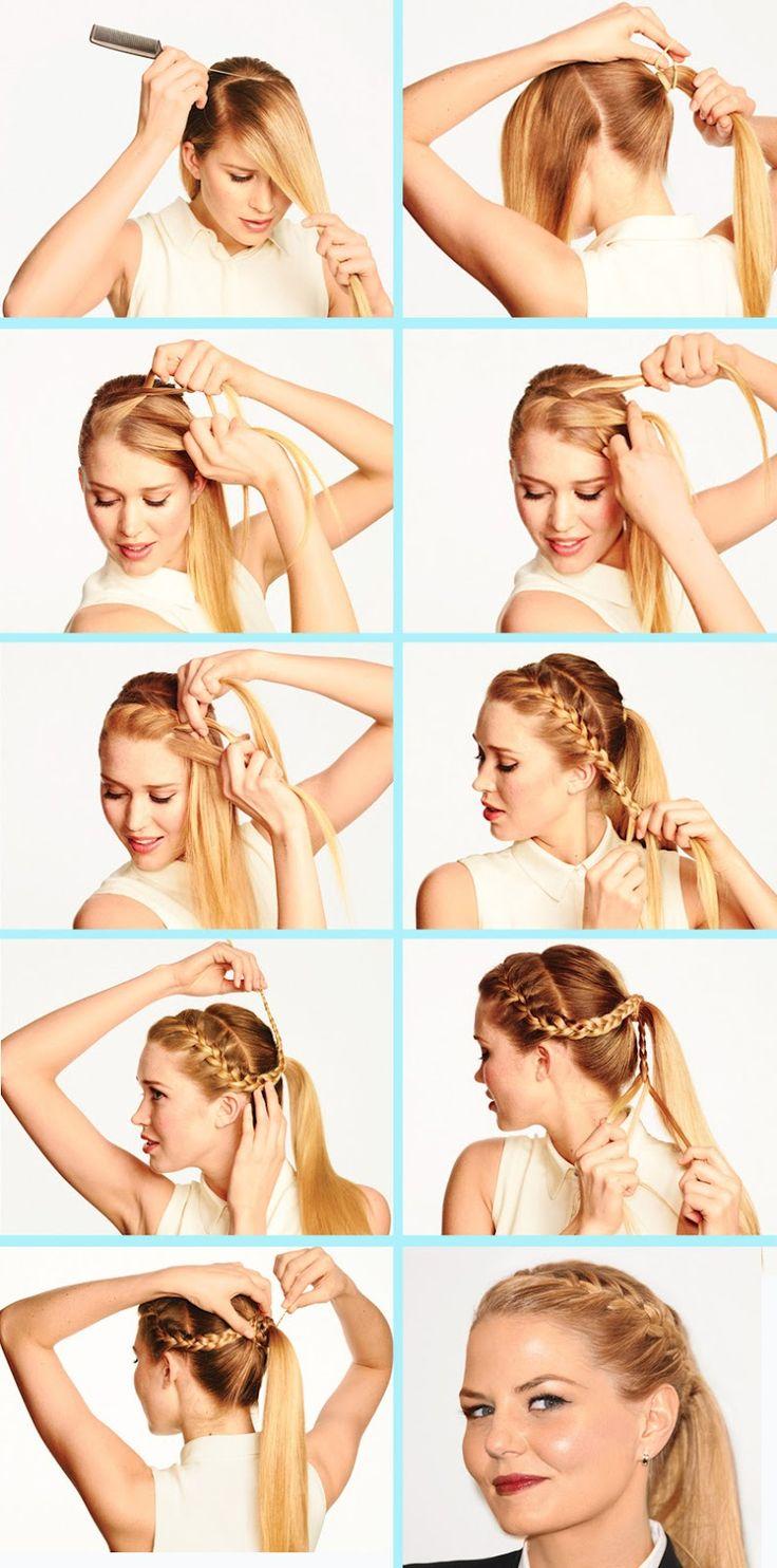 best ponytails bobs u updo hair styles images on pinterest