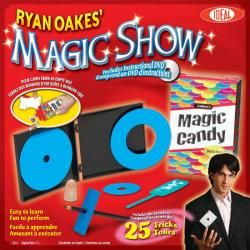 IDEAL RYAN OAKES MAGIC SHOW W/MAGIC CANDY