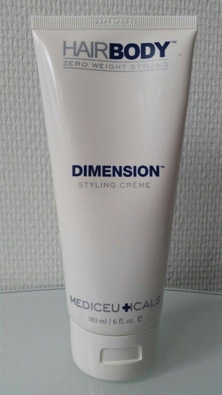 Nieuwe verpakking Dimension styling crème, voor perfecte stevigheid.
