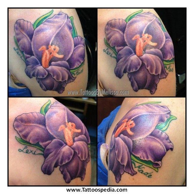 Gladiolus Shoulder Tattoo 45 wonderful gladiolus tattoos