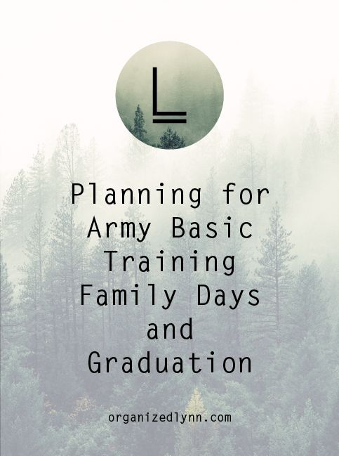 Planning for Army Basic Training Family Days and Graduation #armywife #armylife #armyspouse #milso #BasicTraining #ArmyFamilyDays