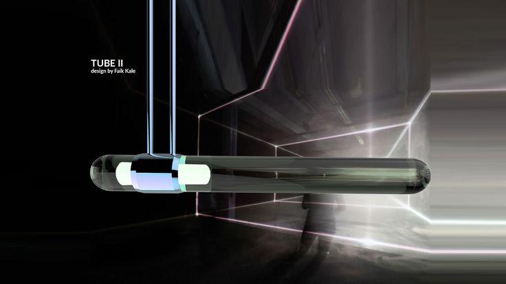 Led aydınlatmalı, tüp boru formunda sarkıt lamba.    Pendant lamp in the form of a tube, with led.  #lighting #design #glass #saken #productdesign #lightingdesign #aydinlatma #tasarım #ürün #pendant