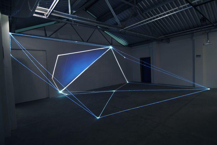 01 Fiber Optic Installations by Carlo Bernardini #ligthing #exhibition #lightart