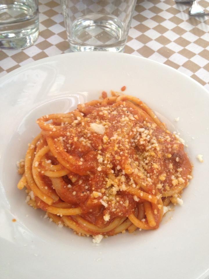 #Pasta all'Amatriciana #Roma