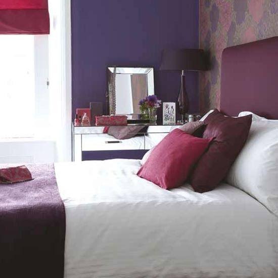 fuschia in the bedroom