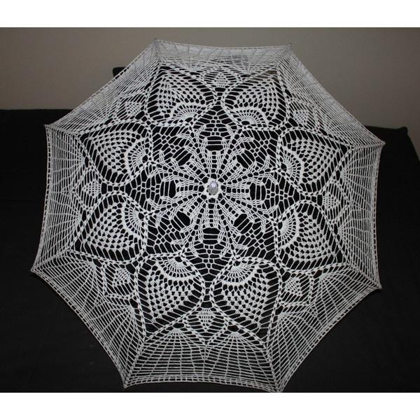 Umbrella Knitting Pattern : Best crochet umbrellas guarda chuvas de