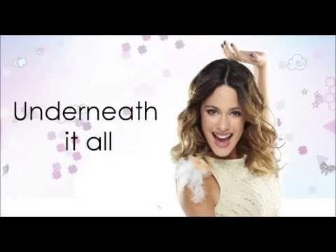 Violetta 3 - Underneath It All (Lyrics/Letra) HD - YouTube