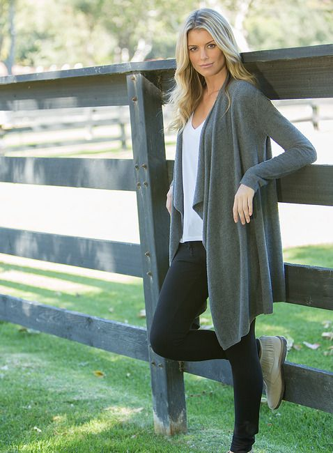 <p>A best seller and wardrobe favorite. �This soft, sophisticated long sleeved wrap can be worn multiple ways and is ideal for any occasion. �</p>