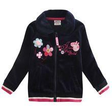 Crianças de inverno roupas hoodies primavera casaco jaqueta menina zipper hoodies jaqueta casaco de inverno crianças Camisolas para meninas Hoodies F5160 (China (continente))