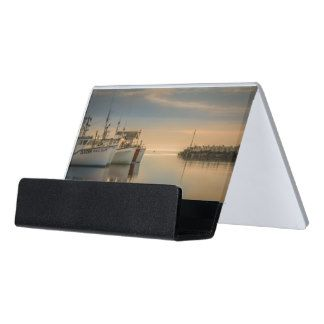 Porte carte photo bateaux de pêche