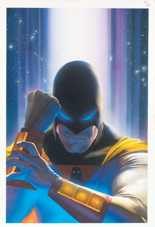 Space Ghost 1 By Alex Ross Artwork I Enjoy Cartoons Comic