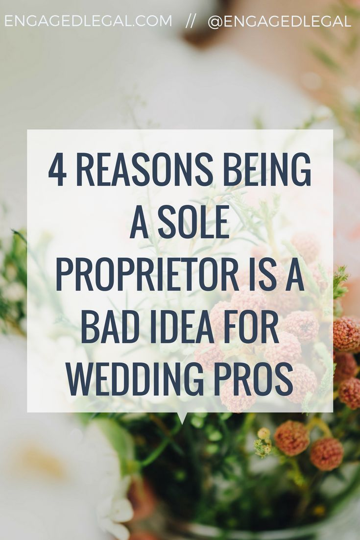 Wedding Event Business Must Have Just Setting Up Your Biz Or Maybe You Re Sitting In Sole Proprietor Land Going To Want Read