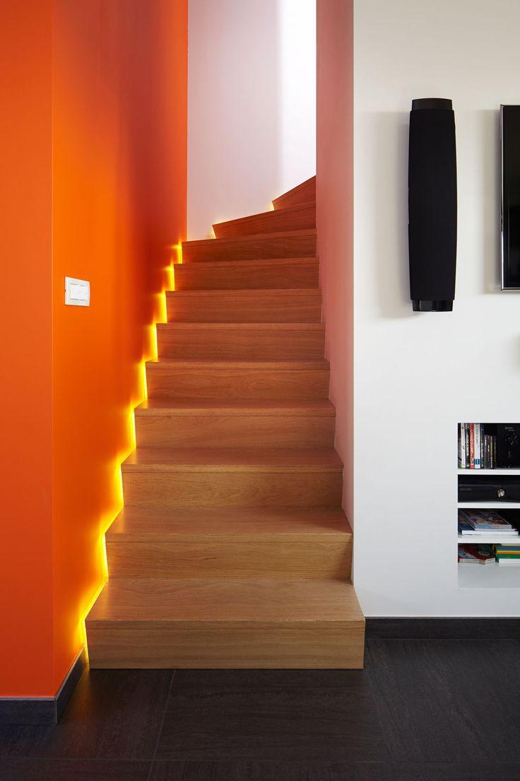 Meer dan 1000 ideeën over trap muren op pinterest   trappen, lange ...