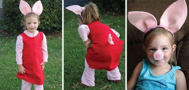 Disfraces infantiles para Carnaval inspirados en la televisión: Peppa Pig #Carnaval #TV #disfraces #DIY