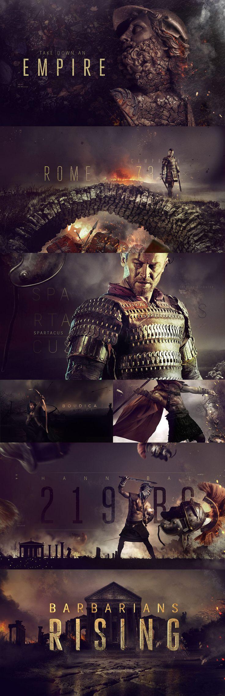 History | Barbarians Rising on Behance