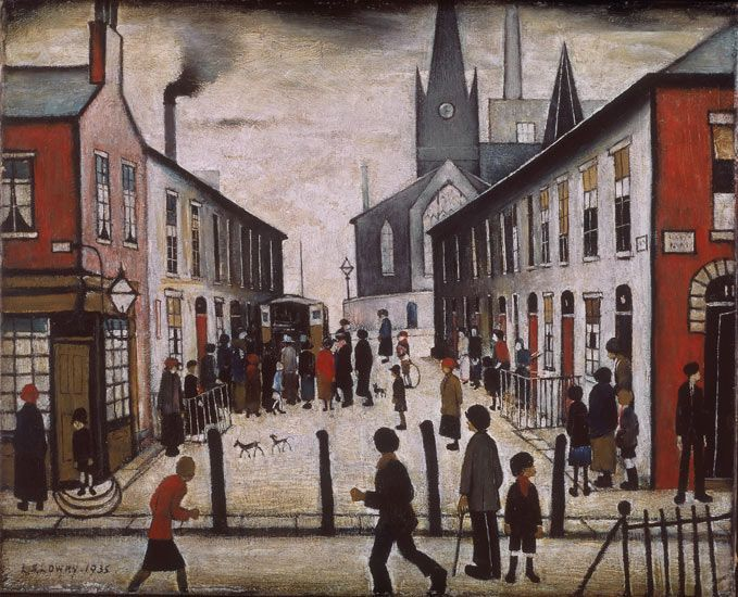 View larger picture....L.S.LOWRY.. 11/1/1887--2/23/1976