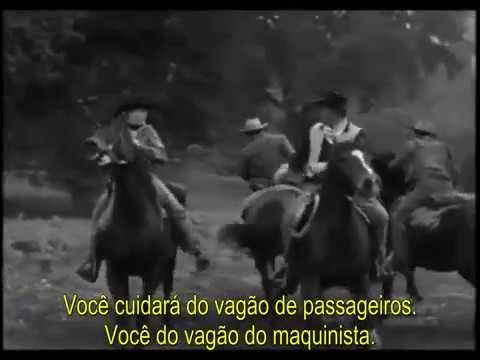 TRÊS ALMAS DANADAS - filme de faroeste/western com Butch Cassidy e Sunda...