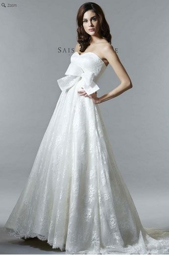 Saison Blanche Wedding Gown - Couture Collection - Style #4225