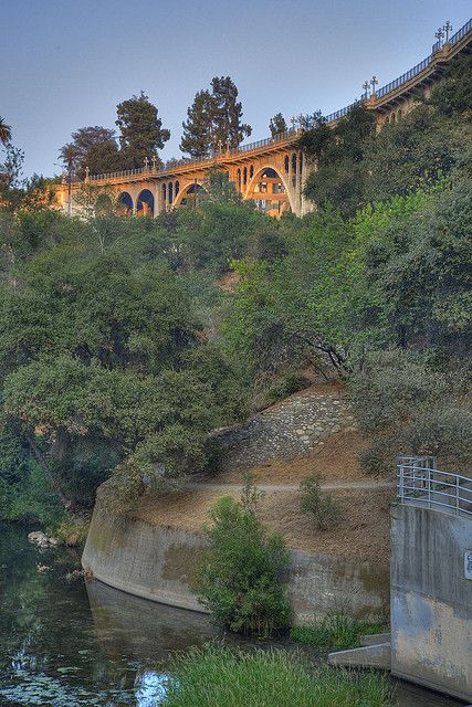 Arroyo Seco in Pasadena, California pasadena casting club, roving archers, horseback riding, hiking