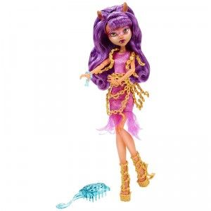 The Monster High Haunted Getting Ghostly Clawdeen Wolf doll is based on the character's ghostly new look as seen in the Monster High DVD Haunted.