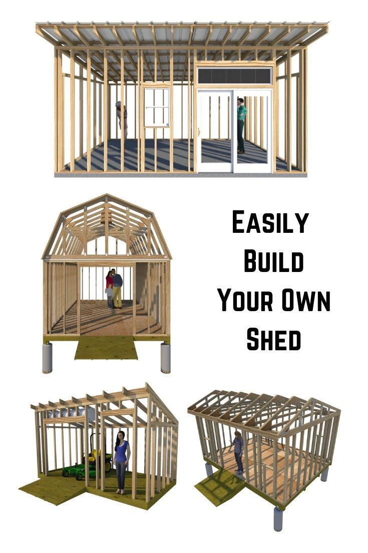 Fun And Easy Shed Plans Building A Storage Shed Shed Design Diy Storage Shed