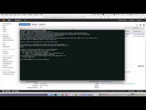 SUSE Linux Enterprise Live Patching demo