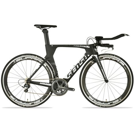 Sensa Dura Integra Pro TT Bike - 2017 - Matt Black / White / Medium / Ex-Magazine Test Bike  #CyclingBargains #DealFinder #Bike #BikeBargains #Fitness Visit our web site to find the best Cycling Bargains from over 450,000 searchable products from all the top Stores, we are also on Facebook, Twitter & have an App on the Google Android, Apple & Amazon.