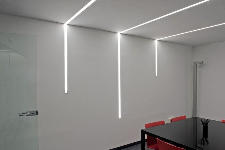 Avanluce. Iluminación oficinas. Audiconsultores Sala de Juntas
