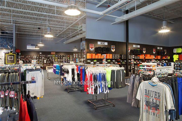 Modern Ice Hockey Shop Display Fixture Retail Hockey Gear Store Interior Design Shop Interior Design Retail Store Design Retail Design