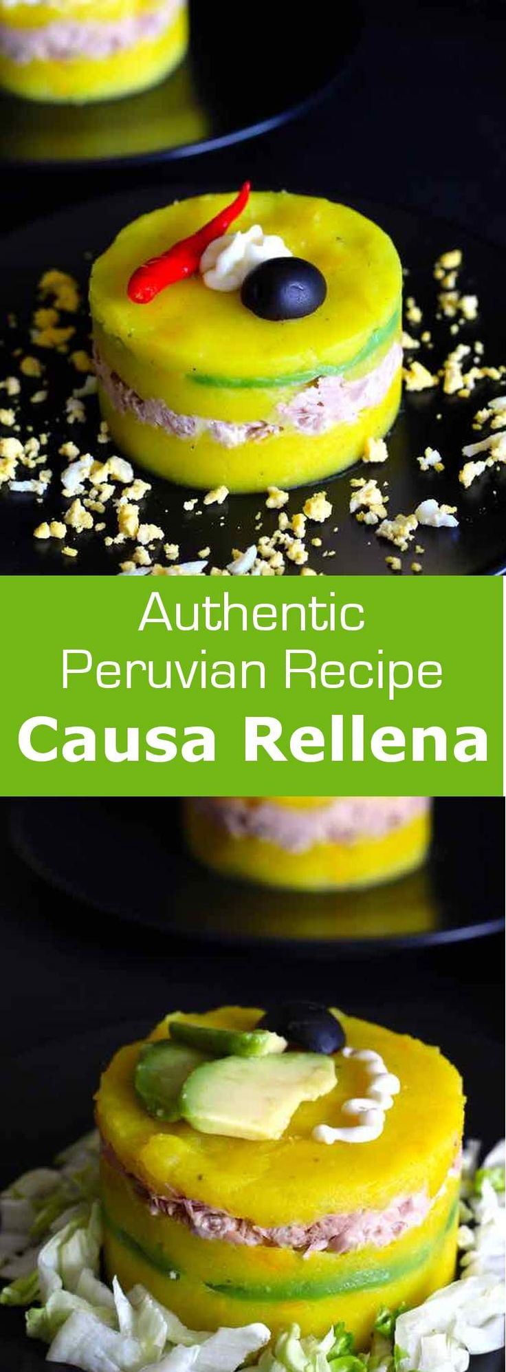 96 best 196 latin american recipes images on pinterest american causa rellena is an iconic recipe from peru that combines lemony and spiced mashed potatoes with forumfinder Images