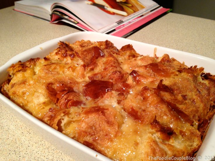Nigella Lawsons Caramel Croissant Pudding