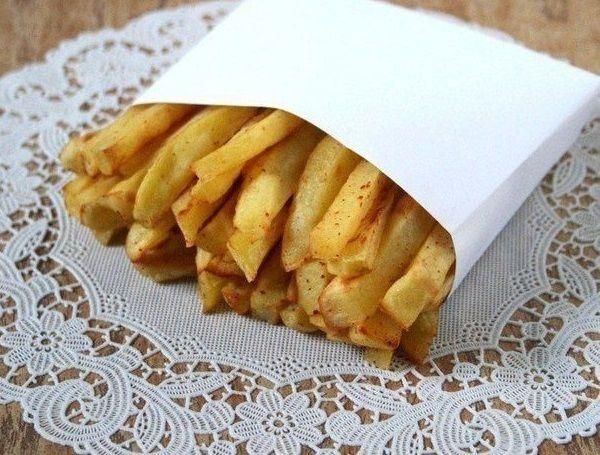 картофель фри фото рецепт без жира и масла