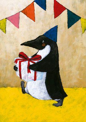 A present from Penguin by Yusuke Yonezu.
