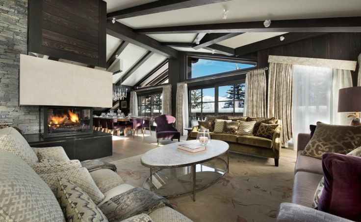 Stunning Luxury Chalets for Winter Holidays on the Nature | See more at http://designlimitededition.com/stunning-luxury-chalets-winter-holidays-nature/