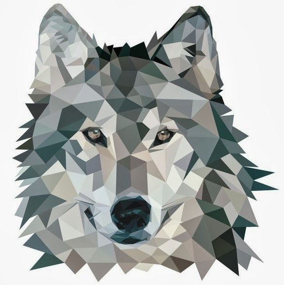 wolf - origami & geo animals trend | Origami Creations ...