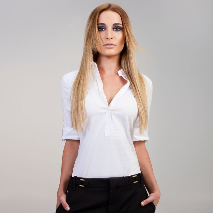 Sandy Blonde Frontrow Hair Extensions on model Christina :) Available for purchase at www.frontrow.co.za
