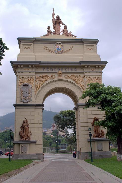 Venezuela, Caracas, Arco federacion libertador
