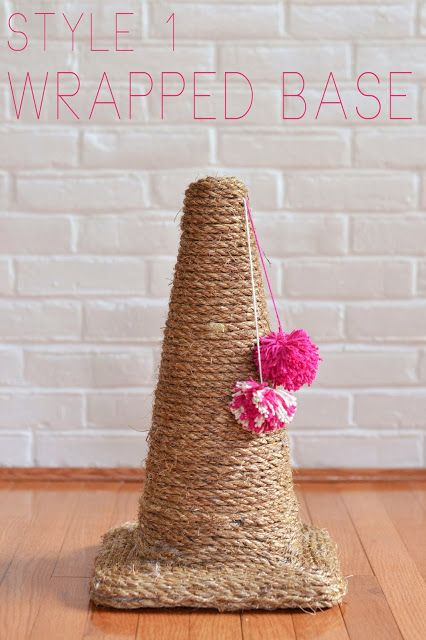 so fancy: make it: traffic cone cat scratching posts